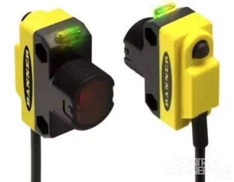 美国邦纳发布透明物检测传感器qs18