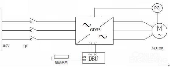 图2 系统电气接线图