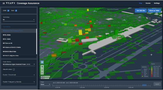 掌控5G网络:VIAVI推出适用于5G网络的3D地理定位解决方案
