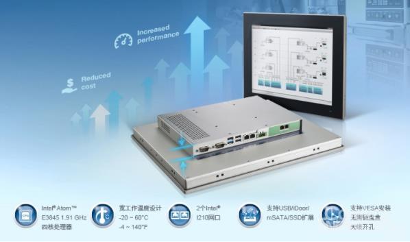 研華推出新一代TPC-1551T工業平板計算機