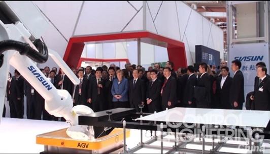 新松机器人自动化重装参展2012汉诺威工博会 - 控制网