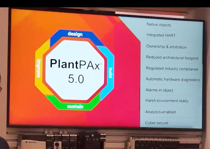 羅克韋爾自動化新版 PlantPAx DCS 系統助力企業應對工廠生命周期中的行業挑戰