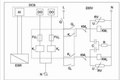 1问题的提出 我公司湿法生产线有几十台电动执行机构,大多数通过手操器、伺服放大器来实现对工艺阀门的控制。由于工况条件差、电子元器件易老化,伺服放大器容易发生故障,影响了整个执行机构的性能。如伺服放大器振荡控制工程网版权所有,引起执行器振荡,导致伺服电动机抱闸失灵,增加了执行器伺服电动机的故障率,造成工艺参数的波动,影响了生产。 2原控制原理 原控制原理框图如图1。手操器给定前置磁放大器4~20mA信号,前置磁放大器的线路是直流输出内反馈推挽线路,给定信号经过和电动执行器位置发送器反馈的4~20mA信号比较