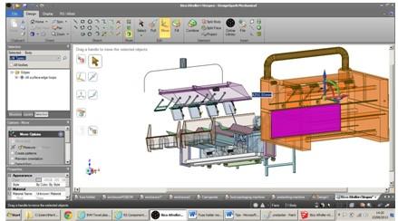 rs推出designspark mechanical 3d设计软件