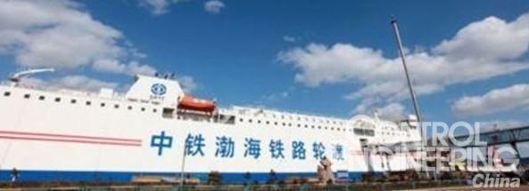 abb助力中铁渤海铁路轮渡