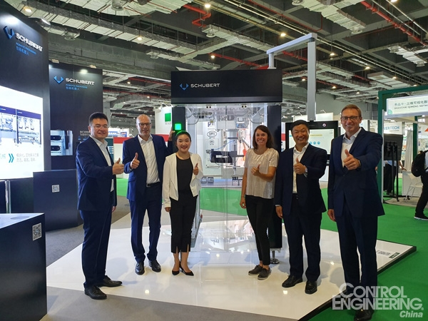 Schubert模块化和自动化包装技术轻松应对各种挑战,加速上海子公司发展