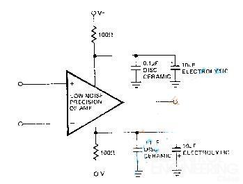 怎样降低运放电路中的电源噪声?