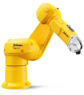 史陶比尔TX2系列六轴机器人新品全球首发