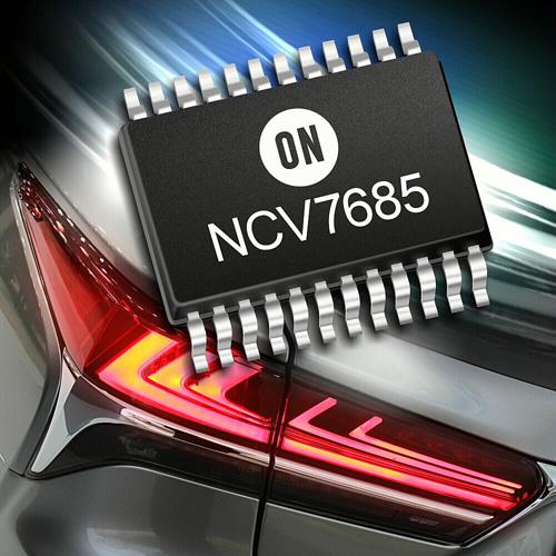 安森美半導體推出汽車LED驅動器和控制器用于先進的汽車照明應用