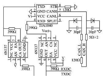 红外线避障传感器电路图