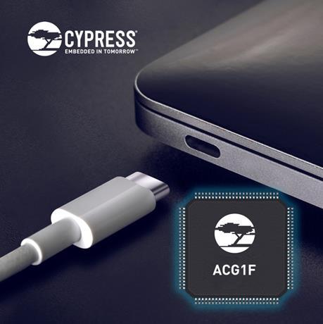 賽普拉斯針對PC的海量細分市場推出USB-C控制器