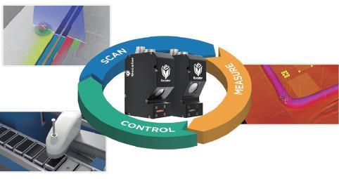 借助3D智能傳感器完成膠路檢測