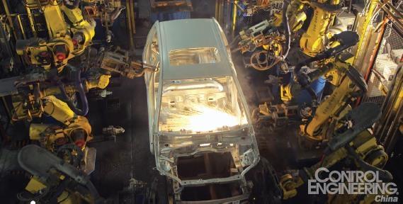 与工业4.0集成的机器人
