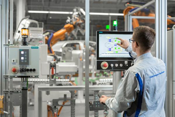 西門子助力大眾汽車發展數字化電動汽車生產