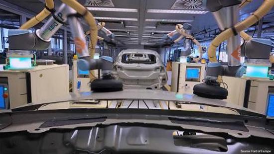 优傲机器人推出全新电缆套件及示教器  助力汽车制造行业解决关键挑战