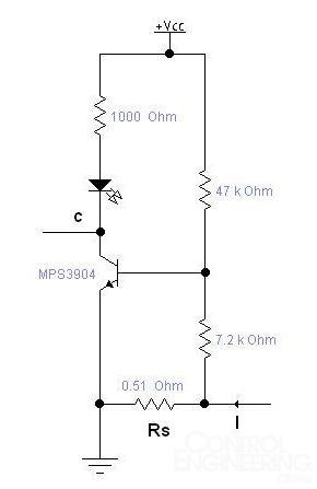 关于几个巧妙的电流检测电路