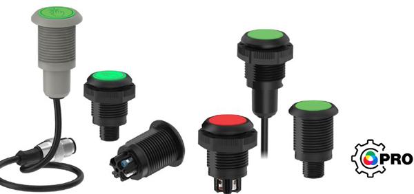 美国邦纳推出全新的S22 Pro系列嵌入式指示灯和光电触摸按钮