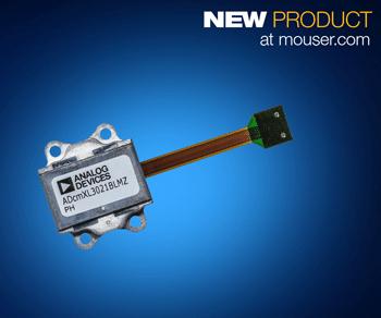 貿澤開售適用于條件式監控的Analog Devices ADcmXL3021三軸振動傳感器