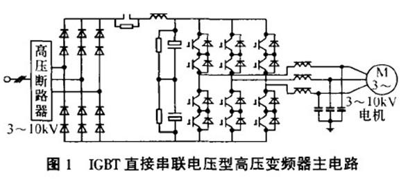 igbt直接高压变频器在高炉水冲渣系统中的应用