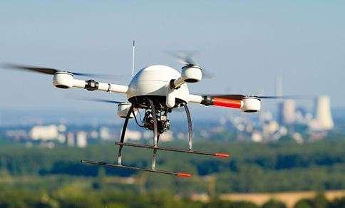 国产工业级无人机亮相美国
