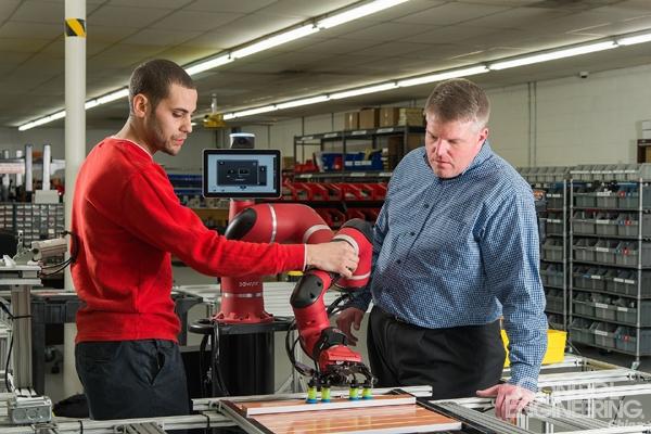 Sawyer协作机器人帮助中小企业保持市场竞争力