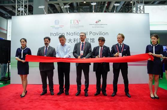 在中国的意大利机械主角-意大利参展第22届中国国际工业博览会(CIIF)