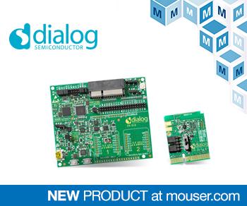 貿澤電子備貨Dialog DA14531 SmartBond TINY開發套件 打造低成本的物聯網系統