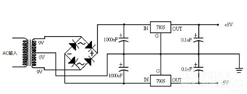 负电压电源设计的种类