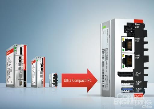 倍福推出超紧凑型C6015工业PC