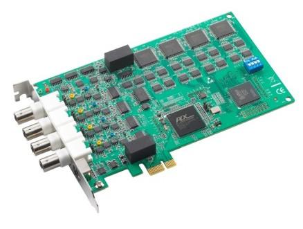卡上前端衰减放大电路对信号进行信号调理,调理后的信号进入a/d转换器